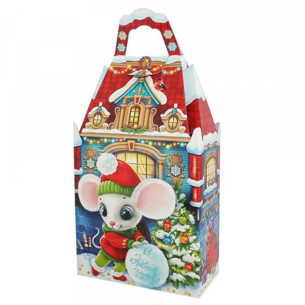 """Geschenkbox """"Maus und Burg"""" bis 1 kg"""