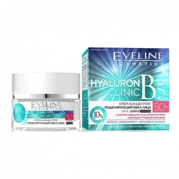 "Eveline - Gesichtscreme ""Hialuron Clinic"", 50+"