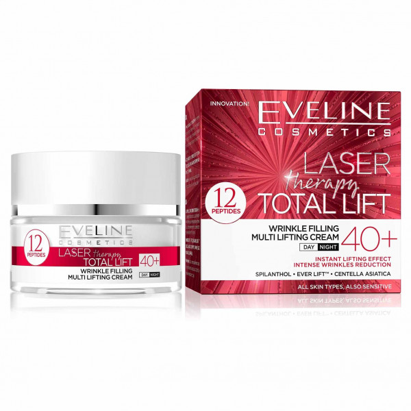 """Eveline """"Laser Therapy Total Lift"""" Gesichtscreme 40+, 50ml"""