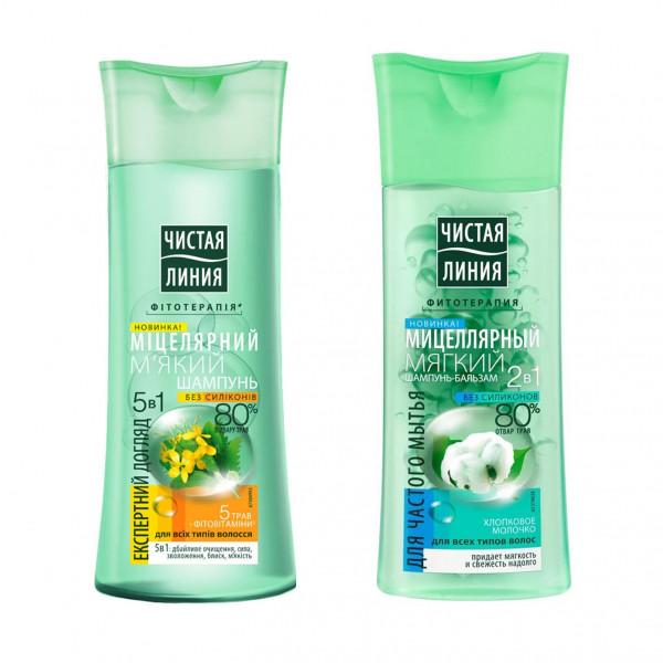 "Saubere Linie - Shampoo ""Мicellar"", 250 ml"