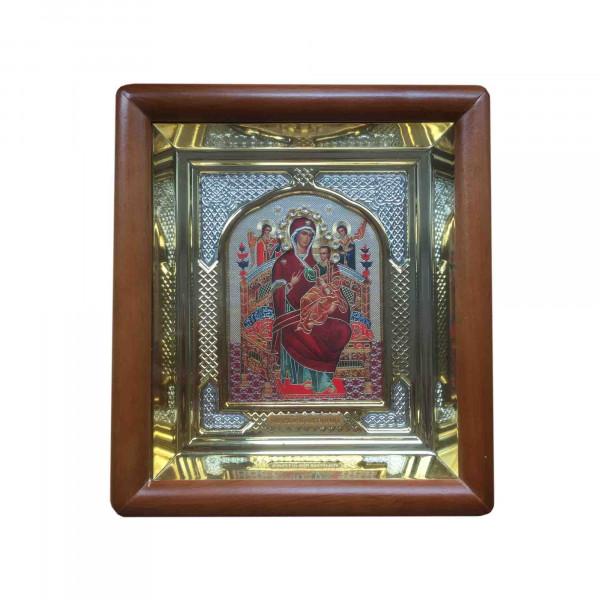 """Ikone mit Holzrahmen in Geschenkbox, """"Wsersaritsa"""", 10x12 cm"""
