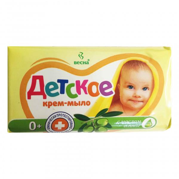 "Seife für Kinder, ""Wesna"", mit Оlivenöll, 90 g"