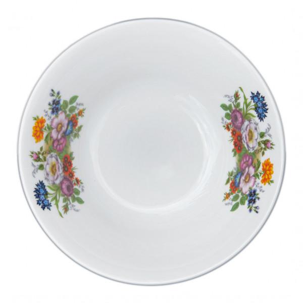 """Salatteller aus Porzellan 600 ml """"Nostalgie"""" - """"Blumenwiese"""""""