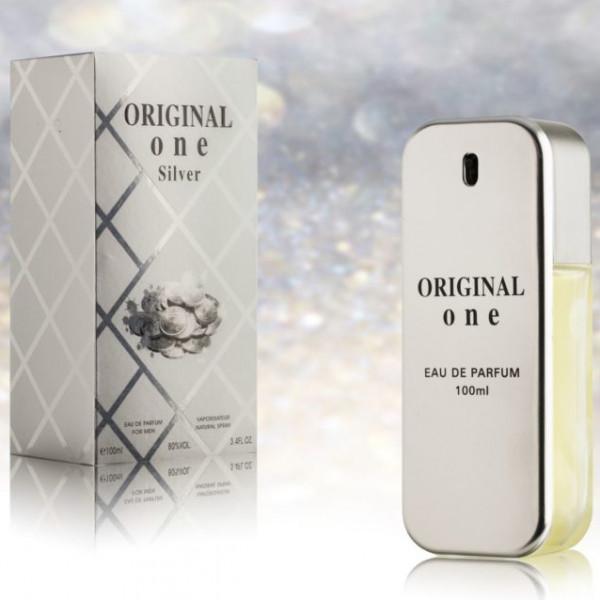 """Parfum für Herren """"Original One"""", Silber"""