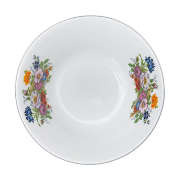 """Salatteller aus Porzellan 360 ml """"Nostalgie"""" - """"Blumenwiese"""""""