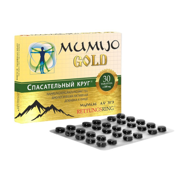 """Mumijo """"Gold"""", 30 Tabl."""