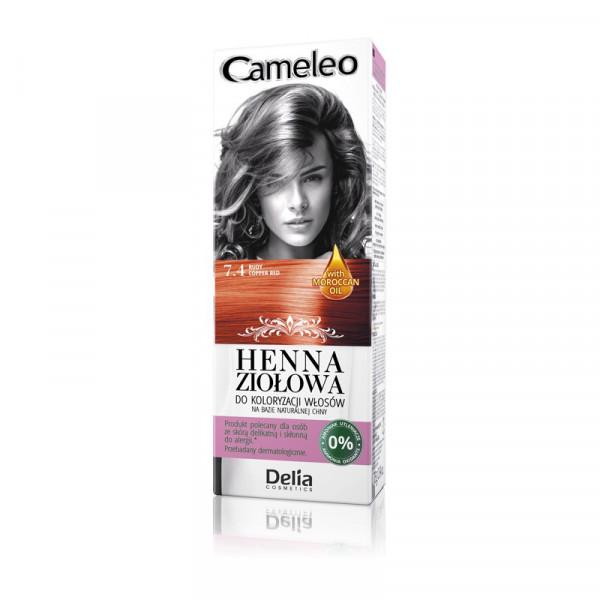 """Cameleo"" Henna Creme, 7.4 Kupfer Rot"