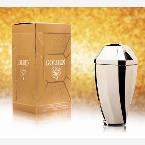 """Parfum für Damen """"Golden Lady"""""""