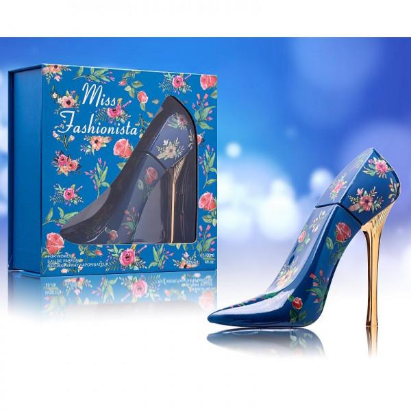 """Parfum für Damen """"Miss Fashionista"""", blau"""
