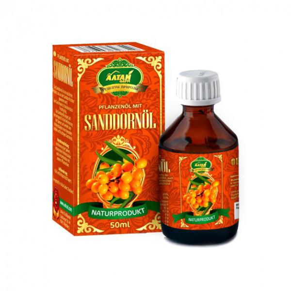 """Pflanzenöl mit Sanddornöl """"Premium"""", 50 ml"""