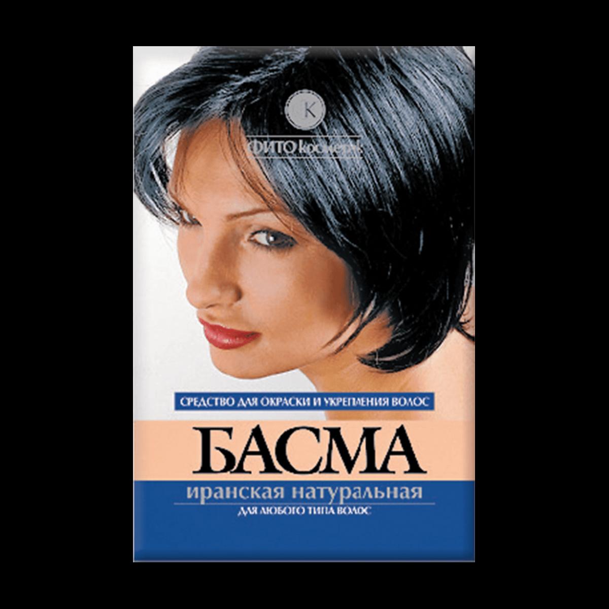 Как приготовить краску для волос басму