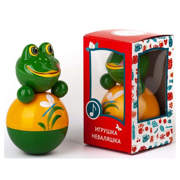 """Stehaufpuppe """"Frosch"""", 15 cm"""