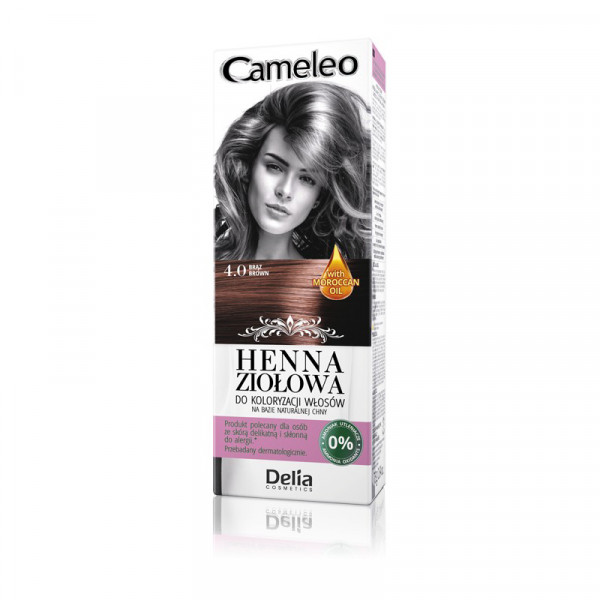 """Cameleo"" Henna Creme, 4.0 Braun"