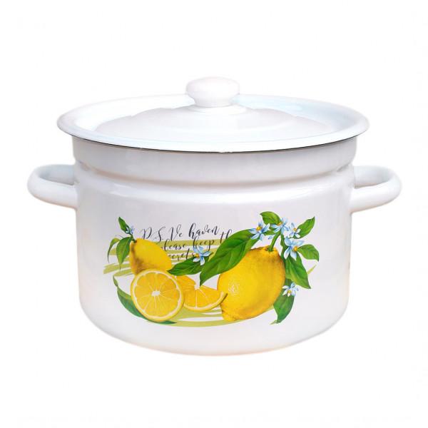 "Topf, emailliert ""Zitronen"", 7,0 L"
