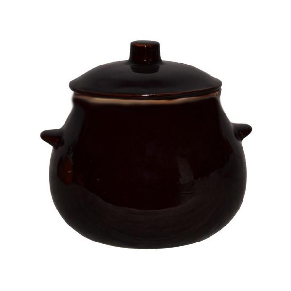 """Keramiktopf """"Glanz"""", """"Braun"""" 650 ml, Set aus 6 St."""