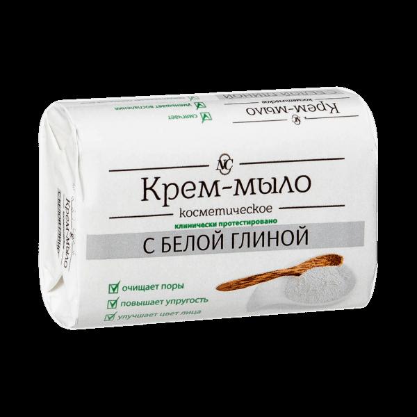 Seife mit weißem Lehm, 90 g