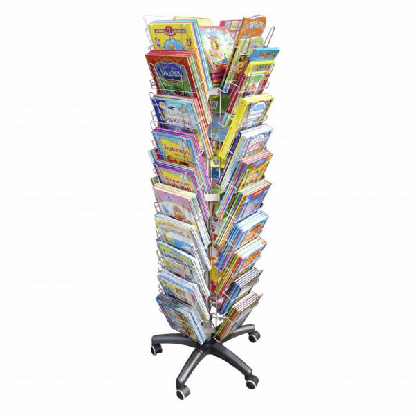 Ständer für Kinderbücher, 4-seitig