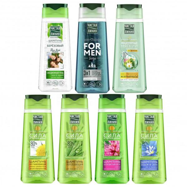 Saubere Linie - Shampoo, 7 St. x 250 ml