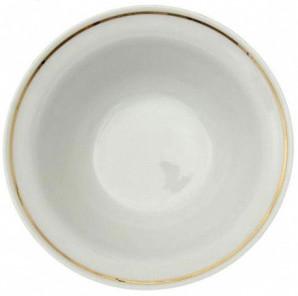 """Salatteller aus Porzellan 1150 ml """"Nostalgie"""" - """"Weiß mit Gold"""""""