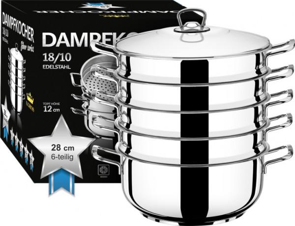 """Dampfkocher """"Silber Series"""", 28 cm"""