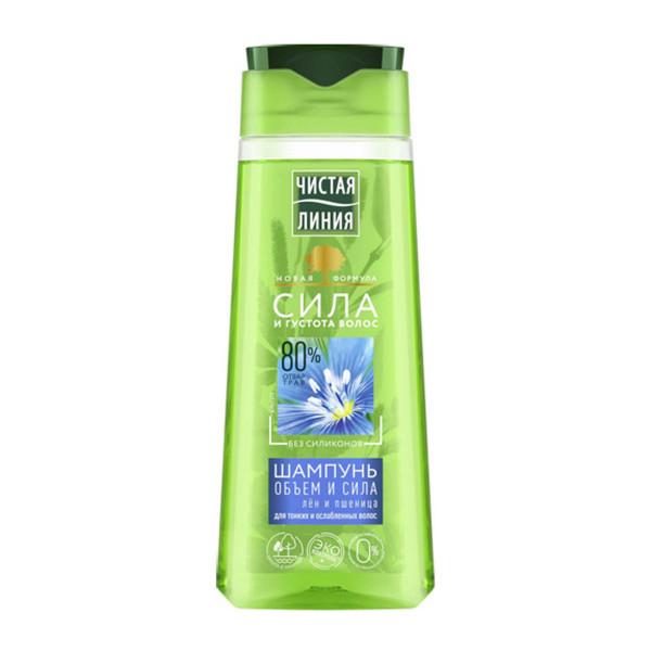 """Saubere Linie - Shampoo """"Volumen und Kraft"""", 250 ml"""