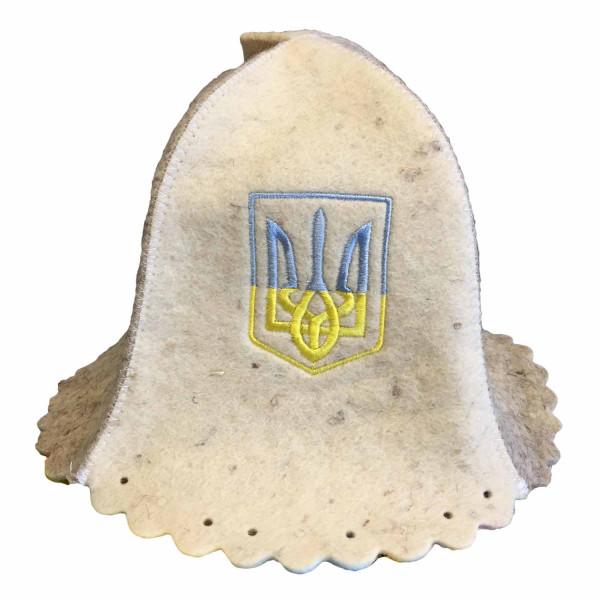 "Filzhut für Sauna, ""Герб Украины"""