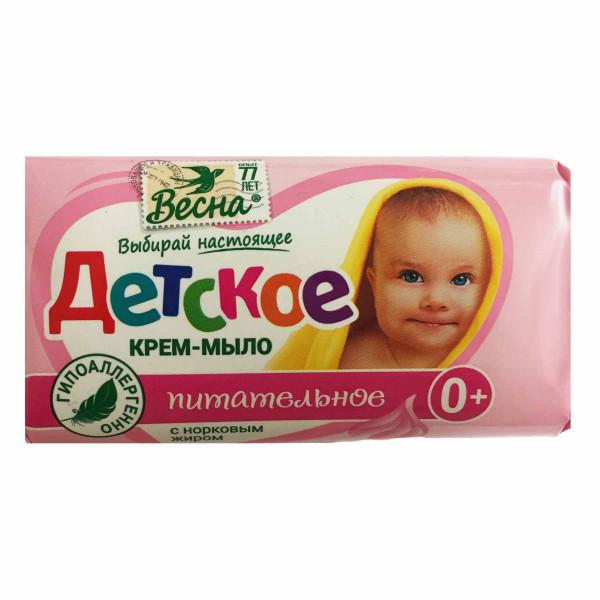 """Seife für Kinder, """"Wesna"""", nahrhaft mit Nerzfett, 90 g"""