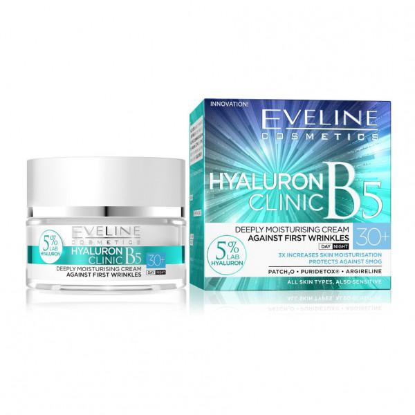 "Eveline - Gesichtscreme ""Hialuron Clinic"", 30+"