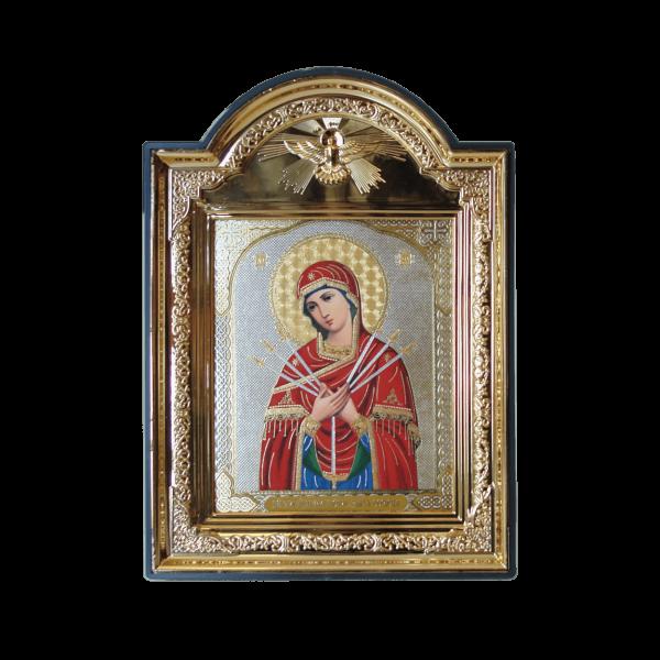 Ikone (Kunststoff), 10x12 cm