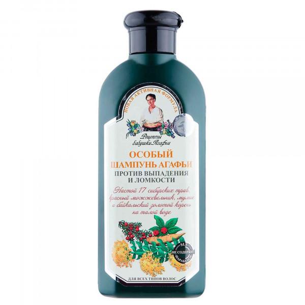 "Oma Agafja - Shampoo mit 17 Kräuter "", ""Gegen Haarausfall"", 350 ml"