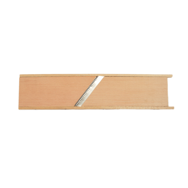 Reibe (Holz) für Karotte