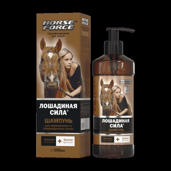 Horse Force - Shampoo für geschädigtes Haar, 500 ml
