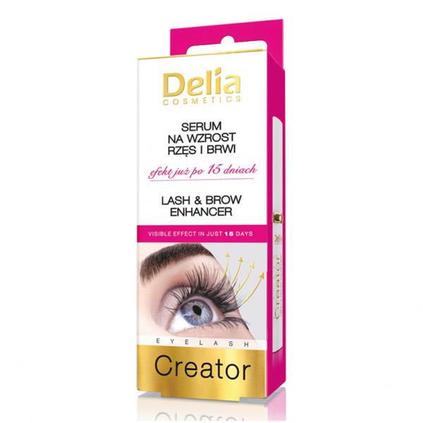 Delia - Serum für Wimpern und Augenbrauen, 7ml