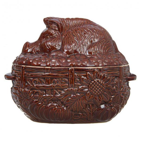 """Backtopf Keramik, """"Wildsau"""", 3 l"""