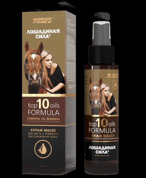 Horse Force - Öl-Zusammensetzung für die Haare, 100 ml