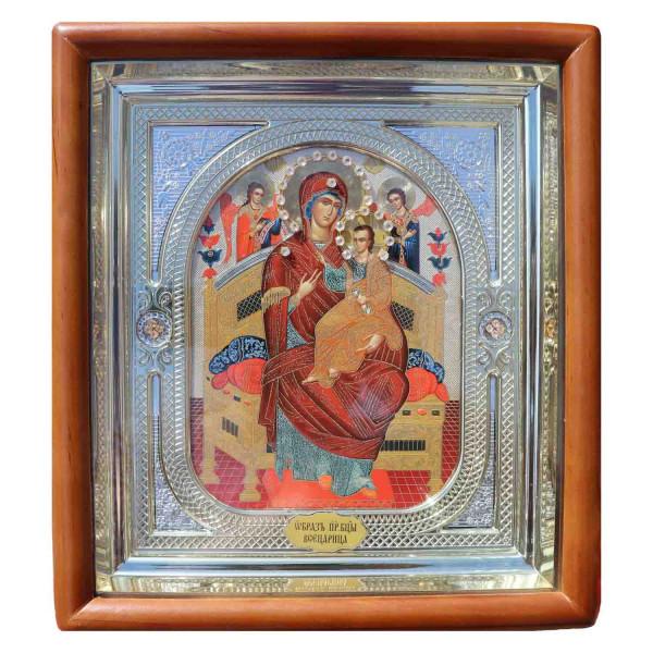 """Ikone mit Holzrahmen in Geschenkbox, """"Wsetsaritsa"""", 15x18 cm"""