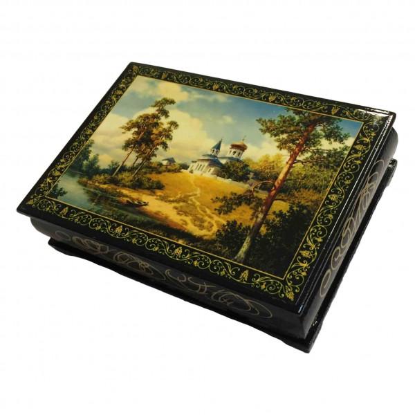 """Souvenir Schatulle """"Russische Landschaft"""", 14х10х4 cm"""