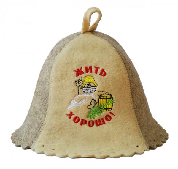 Filzhut für Sauna
