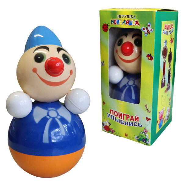 """Stehaufpuppe """"Clown"""", 27 см cm"""