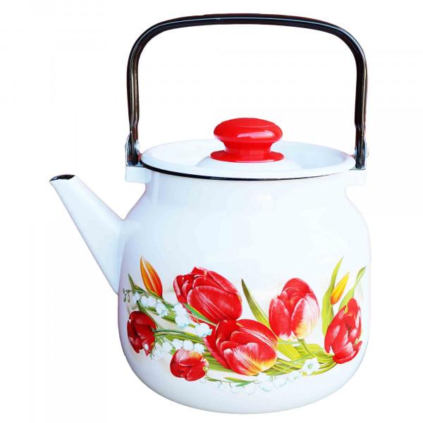 "Teekanne, emailliert, 3,5 L ""Mai"""