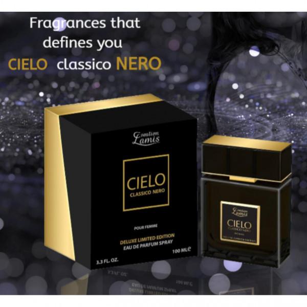 "Parfum für Damen ""Cielo"" classico nero"
