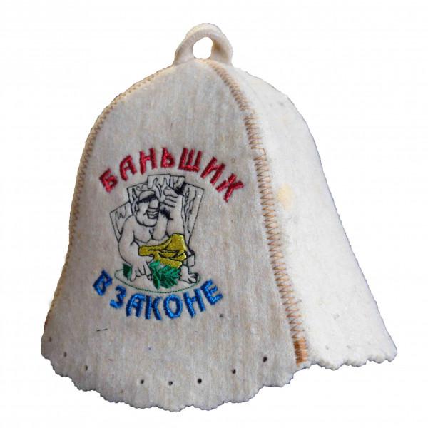 """Filzhut für Sauna, """"Bantschik w Sakone"""""""