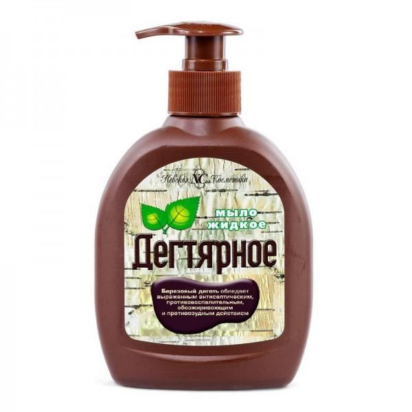 """NK - Flüssigseife """"Degtjarnoe"""", mit Spenderflasche, 300 g"""