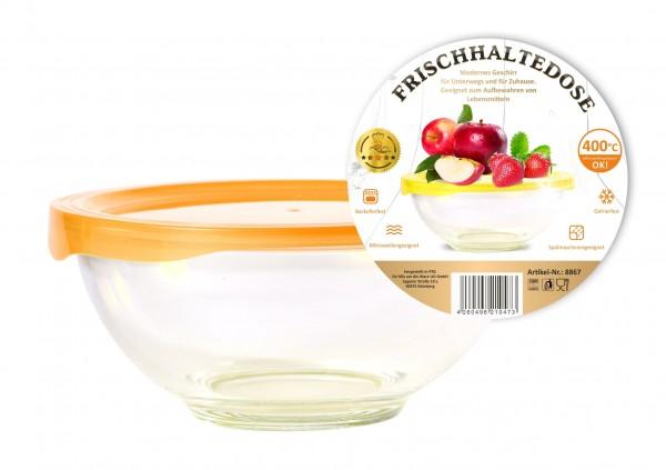 Frischhaltedose, glas, rund 2,4 L