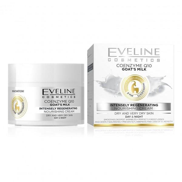 """Eveline - """"Q10 + Ziegenmilch"""" Gesichtscreme"""