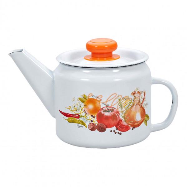 """Teekanne, emailliert, 1,0 L """"Italienische Küche"""""""