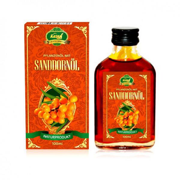 """Pflanzenöl mit Sanddornöl """"Premium"""", 100 ml"""