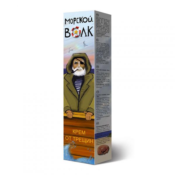 """Morskoj Wolk"", Creme gegen Cracking, 44 ml"