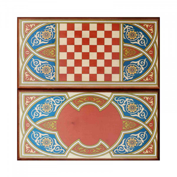 "Backgammon ""Asien"", aus Holz, 400x200 mm"