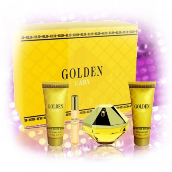 "Parfum-Set für Damen ""Golden Lady"""